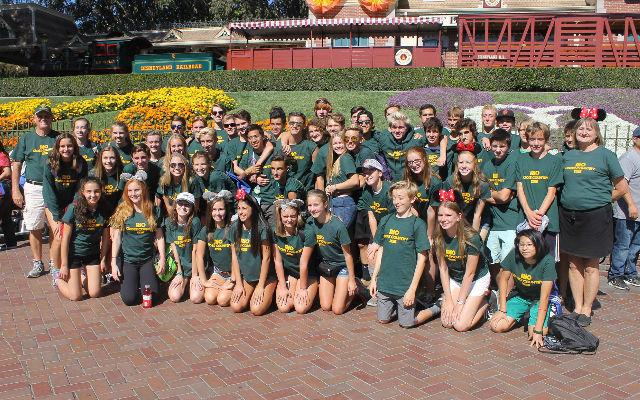 2016 Mt. SAC/Disneyland XC Trip