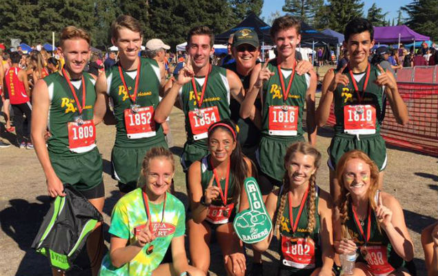 2016 Rio Raiders Cross Country - Pacific Invitational Champions