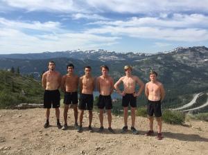 Elijah Greer - Rio XC - Tahoe/Donner - July 2017