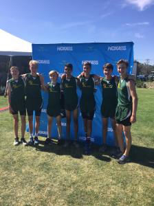 2017 Capital Cross Challenge - Boys Frosh/Soph 2nd Place