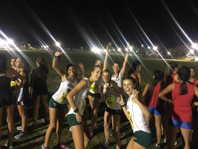 Rio Varsity Girls at the 38th Annual Skechers Woodbridge Cross Country Classic