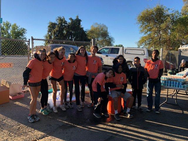 2018 Rio XC Team - Mile 10 - Urban Cow Half Marathon